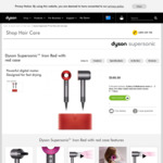 Dyson Supersonic Iron Red Hair Dryer with Red Case $411.75 Delivered @ Dyson.com.au