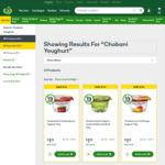 ½ Price Chobani Pots 170gm $1.12 @ Woolworths
