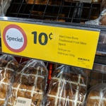 [NSW] All Hot Cross Buns $0.10 @ Coles (Rose Bay)