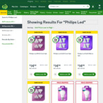 Philips LED GU10 and MR16 Bulbs, 4 Pack $14.50 (Was $29) @ Woolworths (Nationwide)