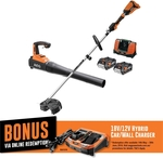 AEG 18v Trimmer and Blower Kit $350 (Was $450) @ Bunnings Warehouse