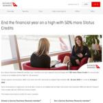 50% Bonus Status Credits for Business Rewards Members for June 12-19 Bookings @ Qantas