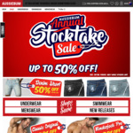 aussieBum Mens Apparel - 50% off Underwear, Swimwear and Clothing
