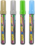 10 Marvy Uchida Poster Paint Markers (Gold, Light Green or Light Blue) - $7 + Free Delivery - The Office Shoppe