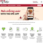 KFC (App Users) 30 Nuggets, 2 Large Chips & 4 Sauces for $15.95 (19/08 Only)