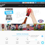 10% off Sitewide - Talking Bottle Openers including Marvel, AFL, Mr. President & More - Father's Day Sale @ Bottlepops