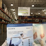 Sony WF-SP700N Wireless Noise-Cancelling Headphones Rose Gold $164.99 @ Costco (Membership Required)