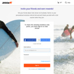 Refer a Friend to Club Jetstar and You'll Both Get a $20 Voucher