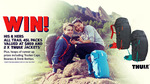 Win a Thule Backpack & Jacket Prize Pack Worth Over $1,000 or Minor Prizes from Wild Earth