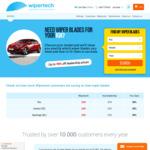 Wipertech Aeroflex Wiper Blades for Kia Cars (Front Pair) $25 Delivered - Wipertech.com.au