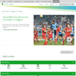Free and DataFree A-League Streaming For Telstra Mobile Customers