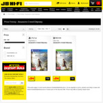 [XB1, PS4] Assassin's Creed Odyssey $39 + Delivery or Free C&C ($37.05 with Wicked Wednesday Email Code) @ JB Hi-Fi