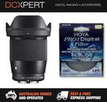 SIGMA 16mm F1.4 LENS for Sony E-Mount with Hoya UV Filter $439.20 Delivered @ DCXpert eBay