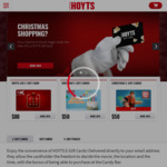 Save 15% off When You Load $50 or More on a Hoyts Gift Card @ HOYTS