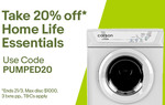 20% off Selected Items from Mytopia and Edisons (Max Discount $1000, 3 Transactions) @ eBay