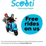 [VIC] Unlimited Free Rides on Scooti (Melbourne) First 500