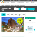 15% off YHA Hotel Coupon Code Package + Sydney $17.50 Cruise Parking Flat Rate via Divvy & Parking Deals Australia