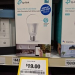 [VIC] TP-Link Smart Wi-Fi LED Dimmer Bulb 600L Now $19 (Was $44) @ Officeworks Epping