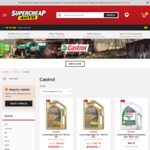 40% off All Castrol Engine Oils This Weekend @ Supercheap Auto