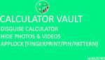 [Android] Free: Calculator Vault: Hide Photos & Videos + Applock @ Google Play