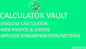 Android] Free: Calculator Vault: Hide Photos & Videos +