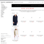 Up to 75% off @ David Lawrence Outlet