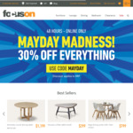 30% off RRP Sitewide (Online Only) @ Focus on Furniture