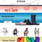 EOFY: up to 70% off @ Crocs + Extra up to 40% via Groupon