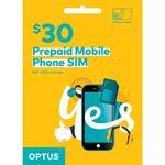 Optus $30 Starter Kit for $10 @ Officeworks