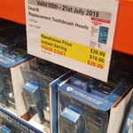 [NSW] Oral B Replacement Toothbrush Heads 10 Pack $26.99 (Was $36.99) @ Costco, Crossroad (Membership Required)