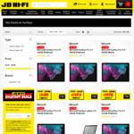 15% Off Microsoft Surface Tablets and Laptops (Surface Laptop 2 i5 128GB $1273, Core i5 256GB $1698) @ JB Hifi