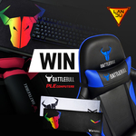 Win a BattleBull Combat Gaming Chair Worth $249 from PLE/LANdu