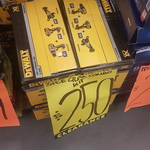 [NSW] DeWalt 18V 6Ah Brushless XR Three Piece Kit, Drill/Impact/Angle Grinder $250 Clearance @ Bunnings Seven Hills/Cross Roads