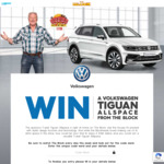 Win a Volkswagen Tiguan Allspace Worth $67,578 from Nine Network