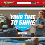 Spend $60 or More in 1 Transaction on Selected Car Care Brands, Receive $10 in SCA Club Credit @ Supercheap Auto