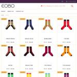 Funky Dress Socks $5 (Was $14.95) + $4 Postage (Free Postage on Orders over $30) @ EOBO
