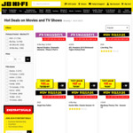 20% off Blu-Ray, 4K & DVDs + Extra 10% off with Coupon @ JB Hi-Fi