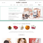 50% off Full-Priced Items Including Christmas Sets (Free Shipping Min Order $50) @ Nude by Nature