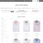 Men's Shirt $25 + Delivery ($0 with $100 Spend) @ Van Heusen