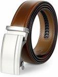 Men's Leather Belt US $12.99 / AU $18.52 Delivered @ Jasgood
