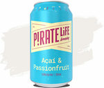 Pirate Life Acai and Passionfruit Sour $39 Case of 16 @ Craft Cartel (Plus Shipping)