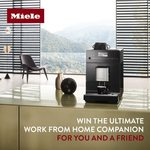 Win 1 of 2 Miele CM 5300 Obsidian Black Benchtop Fresh Bean Coffee Machines Valued at $2400 from Houselab