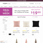 Up to 60% off on Throws and Cushions | Throws from $39.99 | Cushions from $19.99 @ Canningvale