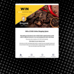 Win a $1,000 Prepaid Credit Card from D&S Fine Foods
