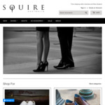 40% off Click Frenzy @ Squire Shoes