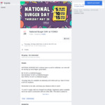 [VIC] Burgers from $5 for National Burger Day @ YOMG, Thursday 28/5 11AM - 9:30PM