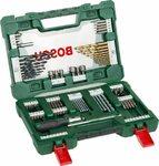 Bosch 91 Piece V-Line Titanium & Screwdriver Drill Bit Set with Ratchet Screwdriver $29.90 + Post ($0 with Prime) @ Amazon AU