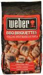 Weber 10kg Briquettes BBQ - $20 Delivered @ Appliances Online