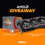 Win an AMD Ryzen 9 3900X & ASUS Radeon RX 5700 XT ROG Strix Worth $1,528 from Mwave