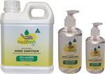 Hand Sanitiser Gel (75-78% Ethanol V/V, Australian Made) - 1 Litre + 250ML Gel with Pump $24.75 + Delivery @ Medaid